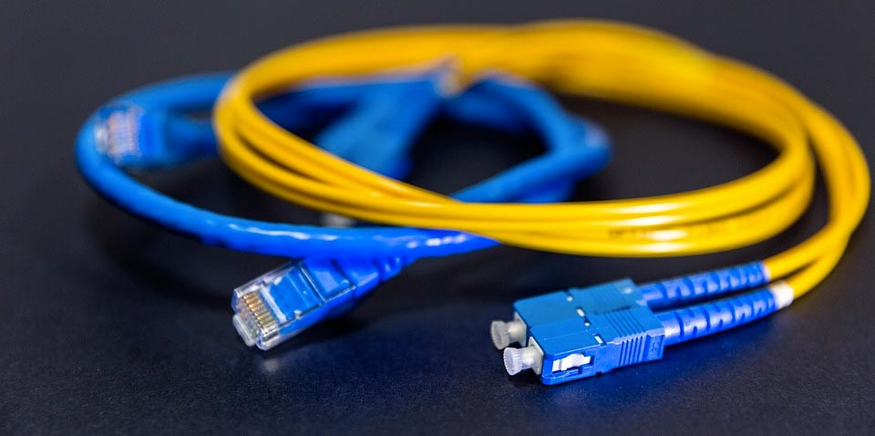 photo de cable fibre optique