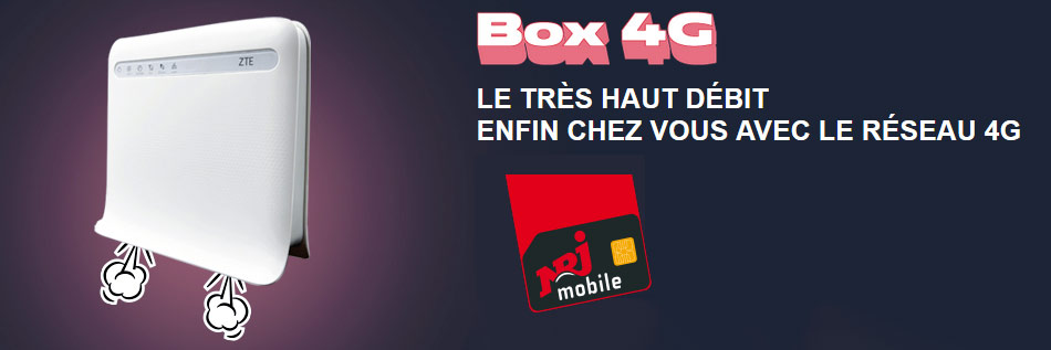4G Nrj Mobile Box